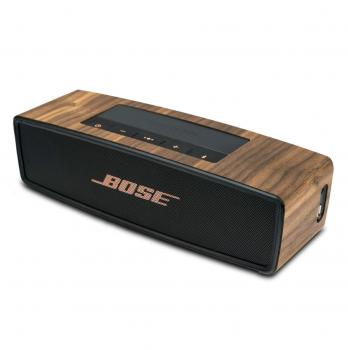 BOSE SOUNDLINK MINI I & II WALNUSS HOLZ COVER *5805