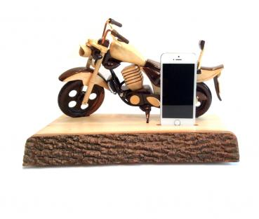 Ladestation Dockingstation, Motorrad, Chopper, Cruiser für Apple iPhone 5, 5s und 6 *6062
